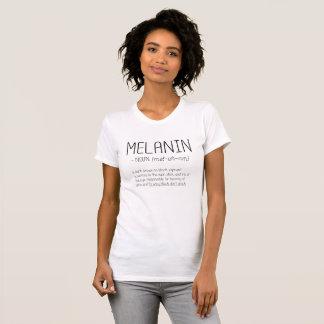 Melanin-Nomen-(Mel-uh-nin) Wort-Definition T-Shirt