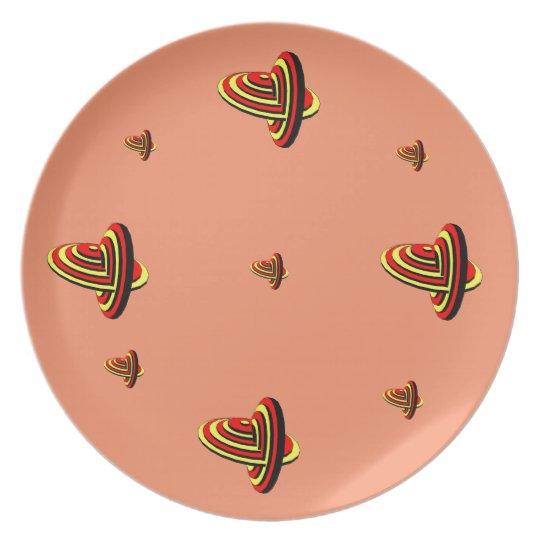 Melanine Platte Teller
