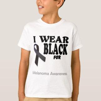 Melanom-Bewusstseins-Schablonen-T-Shirt T-Shirt
