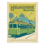 Melbourne, Australien - Laufkatze Postkarte