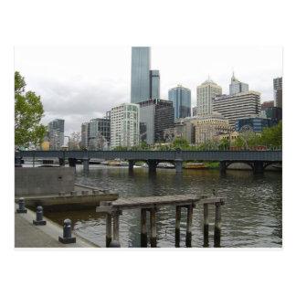 Melbourne Australien Postkarte