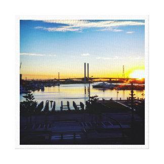 Melbourne Docklands Leinwanddruck