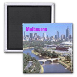 Melbourne-Magnet Quadratischer Magnet