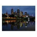 Melbourne-Skyline Postkarten