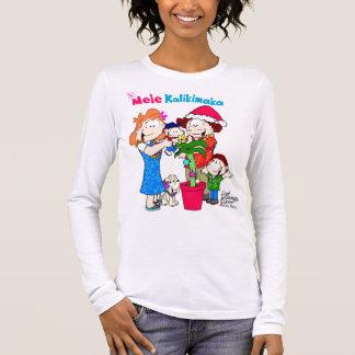 Mele Kalikimaka Damen-T - Shirt