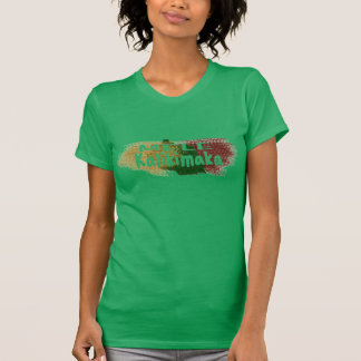 Mele Kalikimaka Hawaii Glitter-Spritzer T-Shirt