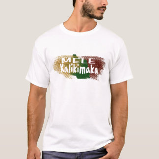 Mele Kalikimaka Hawaii Glitter-Spritzert-shirt T-Shirt