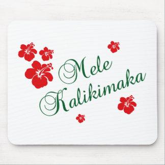 Mele Kalikimaka ~ hawaiische frohe Weihnachten Mousepads