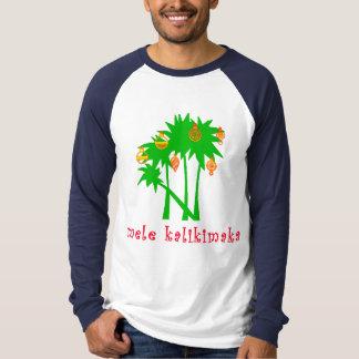 Mele Kalikimaka hawaiisches Weihnachtskleid T-Shirt