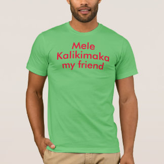 Mele Kalikimaka mein Freund Shirt