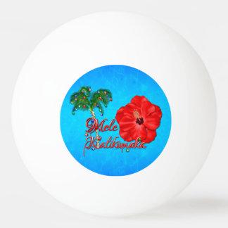 Mele Kalikimaka Ping-Pong Ball