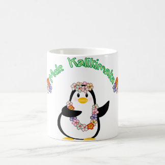 Mele Kalikimaka Pinguin Kaffeetasse