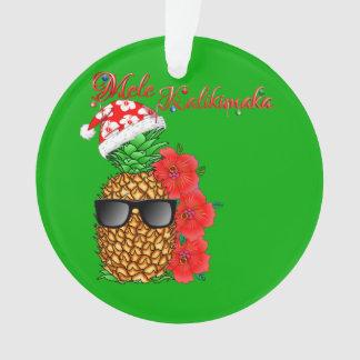 Mele Kalikimaka Weihnachtsananas Ornament