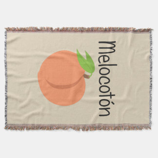Melocoton (Pfirsich) Decke
