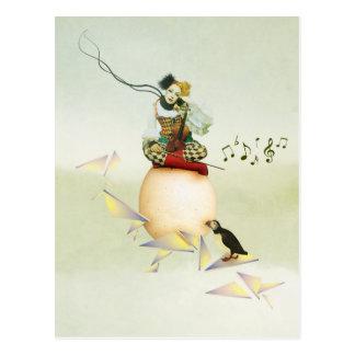 Melodica Postkarte