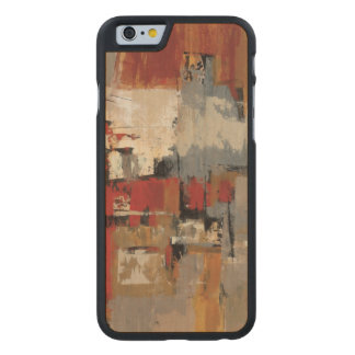 Melodie für Gitarre und Saxophon Carved® iPhone 6 Hülle Ahorn