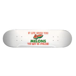 Melone-Dyslexie 19,1 Cm Old School Skateboard Deck