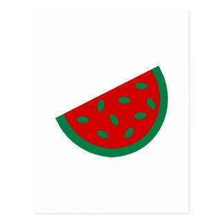 Melone Postkarte