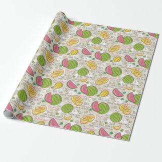 Melonen! Geschenkpapier