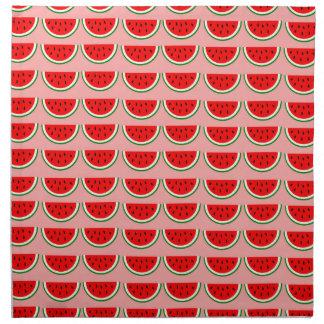 Melonen Muster Stoffserviette