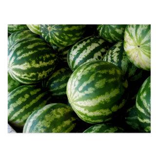 Melonen Postkarte