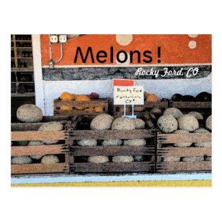 Melonen! Postkarte