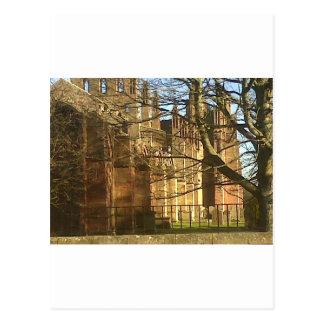 Melrose-Abtei Postkarte