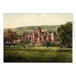 Melrose-Abtei, schottische Grenzen, Schottland Grußkarten