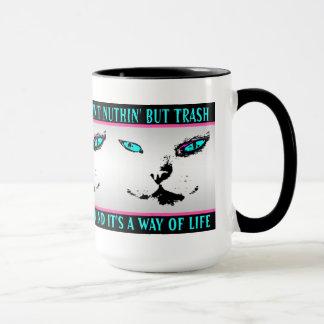 Melvin die Katze - Jazz-Zitat - Kaffee-Tasse Tasse