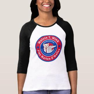 Melvin T. Mink Baseball-T - Shirt