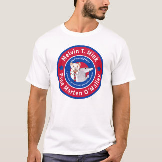 Melvin T. Mink der helle T - Shirt Männer