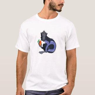 Mem der Macaque, Hebräer Aleph gewettet (Alphabet) T-Shirt