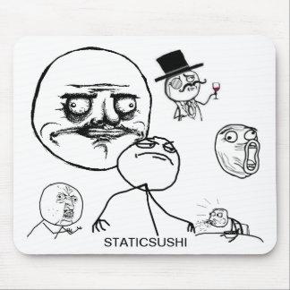 Meme mousepad staticsushi