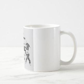 meme ninja Gruppe Kaffeetasse