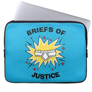 Memoranden Kapitän-Underpants | von Gerechtigkeit Laptopschutzhülle
