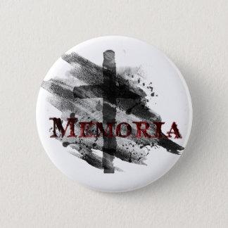 Memoria Asche Buton Runder Button 5,1 Cm