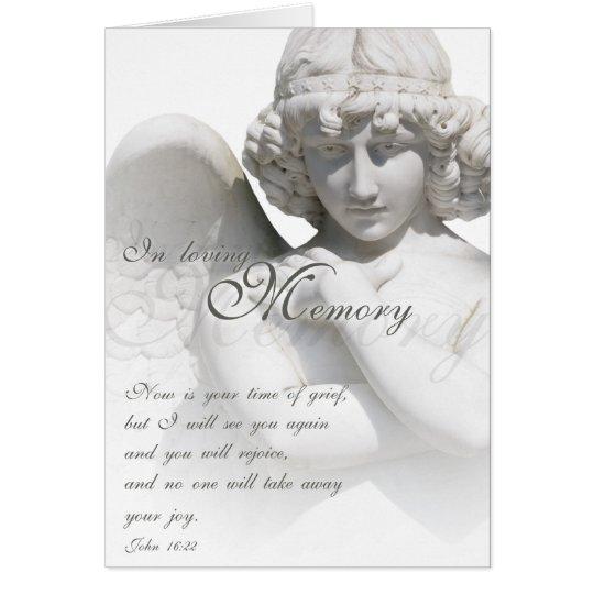 Memory - White Angel Karte
