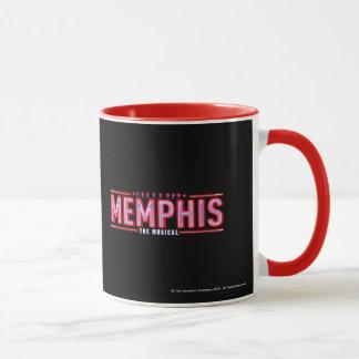 MEMPHIS - das musikalische Logo Tasse