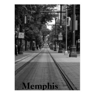 Memphis-Laufkatze-Bahnen Postkarte