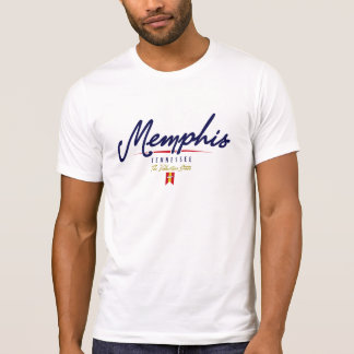 Memphis-Skript T-Shirt