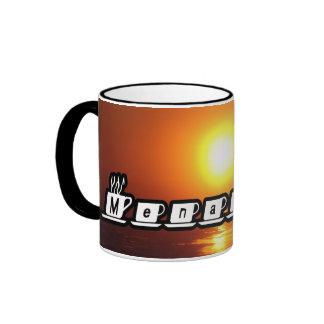 Menachem - am Sonnenuntergang Tee Tassen