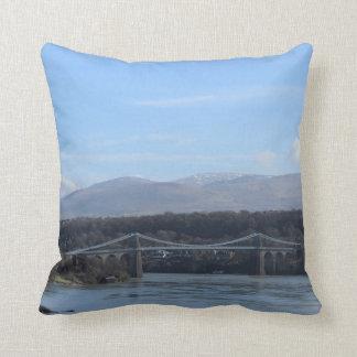 Menai Straße-Brücke - Anglesey/Wales Kissen