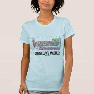 Mendeleevs Verrücktheit (Periodensystem der T-Shirt