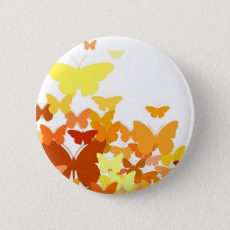 Menge der Schmetterlinge Runder Button 5,7 Cm