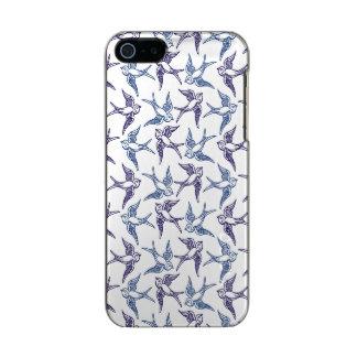 Menge der skizzierten Vögel Incipio Feather® Shine iPhone 5 Hülle