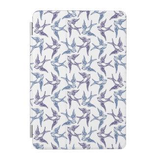 Menge der skizzierten Vögel iPad Mini Cover