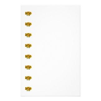 Menge der Sonnenblumen Briefpapier
