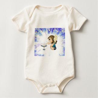 Menorah Engel Baby Strampler