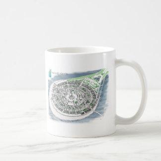 Menorah Inseln Kaffeetasse