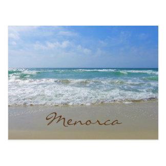 Menorca Strand und Meer Postkarte